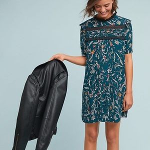 Anthropologie Ines Floral Tunic Dress
